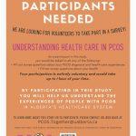 Online Survey!  Understanding Health Care in PCOS